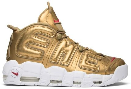 "Nike スニーカー Nike Air More Uptempo Supreme ""Suptempo"" Gold  シュプテン(3)"