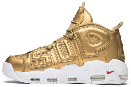 "Nike スニーカー Nike Air More Uptempo Supreme ""Suptempo"" Gold  シュプテン(5)"