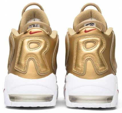 "Nike スニーカー Nike Air More Uptempo Supreme ""Suptempo"" Gold  シュプテン(8)"