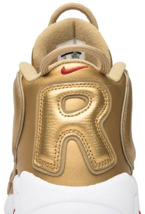 "Nike スニーカー Nike Air More Uptempo Supreme ""Suptempo"" Gold  シュプテン(9)"