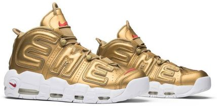 "Nike スニーカー Nike Air More Uptempo Supreme ""Suptempo"" Gold  シュプテン(10)"