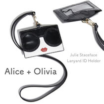 【Alice+Olivia】関送込 Julie Staceface Lanyard ID ホルダー