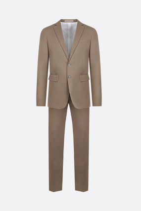 D SQUARED2 スーツ 【D SQUARED2】PARIS TWO-PIECES SUIT IN STRETCH COTTON
