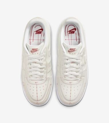 Nike スニーカー Nike Air Force 1 Low SUMMIT WHITE RED (W) 28.5㎝(2)