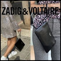 Zadig and Voltaire★Uma Patent クラッチバッグ WHAP4008F