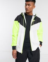 Nike Heritage Essentials hooded zip-through track