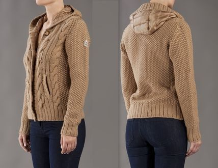 MONCLER アウターその他 国内即発☆ロゴパッチニットのアウターMONCLER(2)