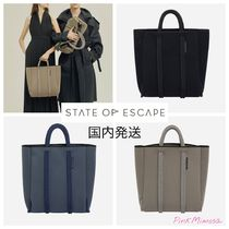 State of Escape(ステイトオブエスケープ) トートバッグ 国内発送/State of Escape/シティ North South トートバッグ