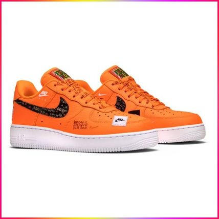 Nike スニーカー Nike Air Force 1 Low Just Do It Pack Total Orange