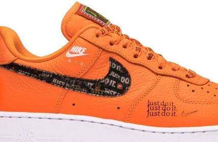 Nike スニーカー Nike Air Force 1 Low Just Do It Pack Total Orange(4)