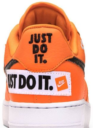 Nike スニーカー Nike Air Force 1 Low Just Do It Pack Total Orange(8)