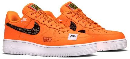 Nike スニーカー Nike Air Force 1 Low Just Do It Pack Total Orange(9)