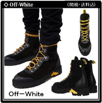 【Off-White】Contrast Hiking Boots 関税・送料込