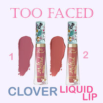 Too Faced☆クローバー☆可愛いわんこ模様☆リキッドリップ2色