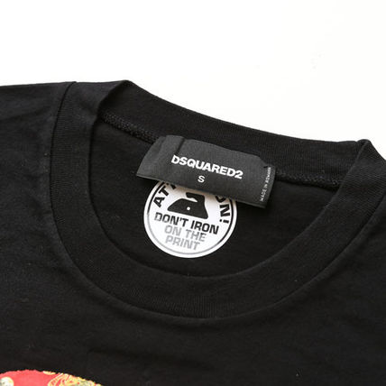 D SQUARED2 Tシャツ・カットソー ディースクエアードツインズプリントTシャツs74gd0654-900(3)