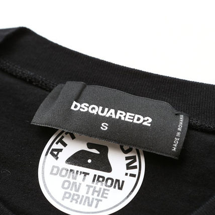 D SQUARED2 Tシャツ・カットソー ディースクエアードツインズプリントTシャツs74gd0654-900(6)