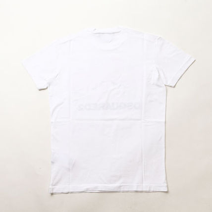 D SQUARED2 Tシャツ・カットソー ディースクエアードツインズプリントTシャツs74gd0654-100(2)