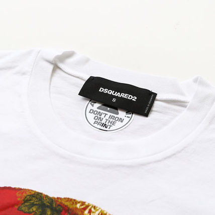 D SQUARED2 Tシャツ・カットソー ディースクエアードツインズプリントTシャツs74gd0654-100(3)