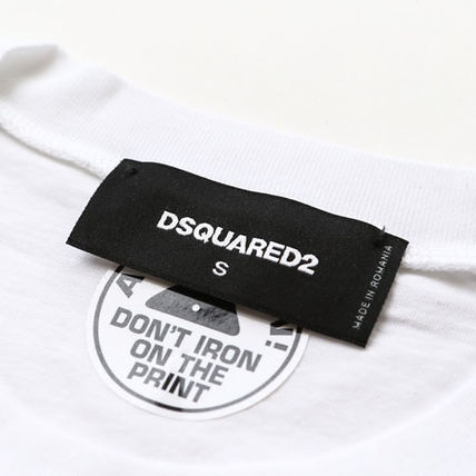 D SQUARED2 Tシャツ・カットソー ディースクエアードツインズプリントTシャツs74gd0654-100(6)
