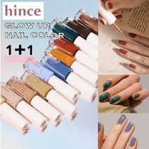 《お得な1+1》20SS★【hince】GLOW UP NAIL COLOR 全6色