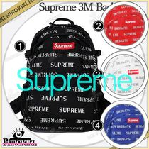 16FW /Supreme 3M Reflective Repeat Backpack バックパック