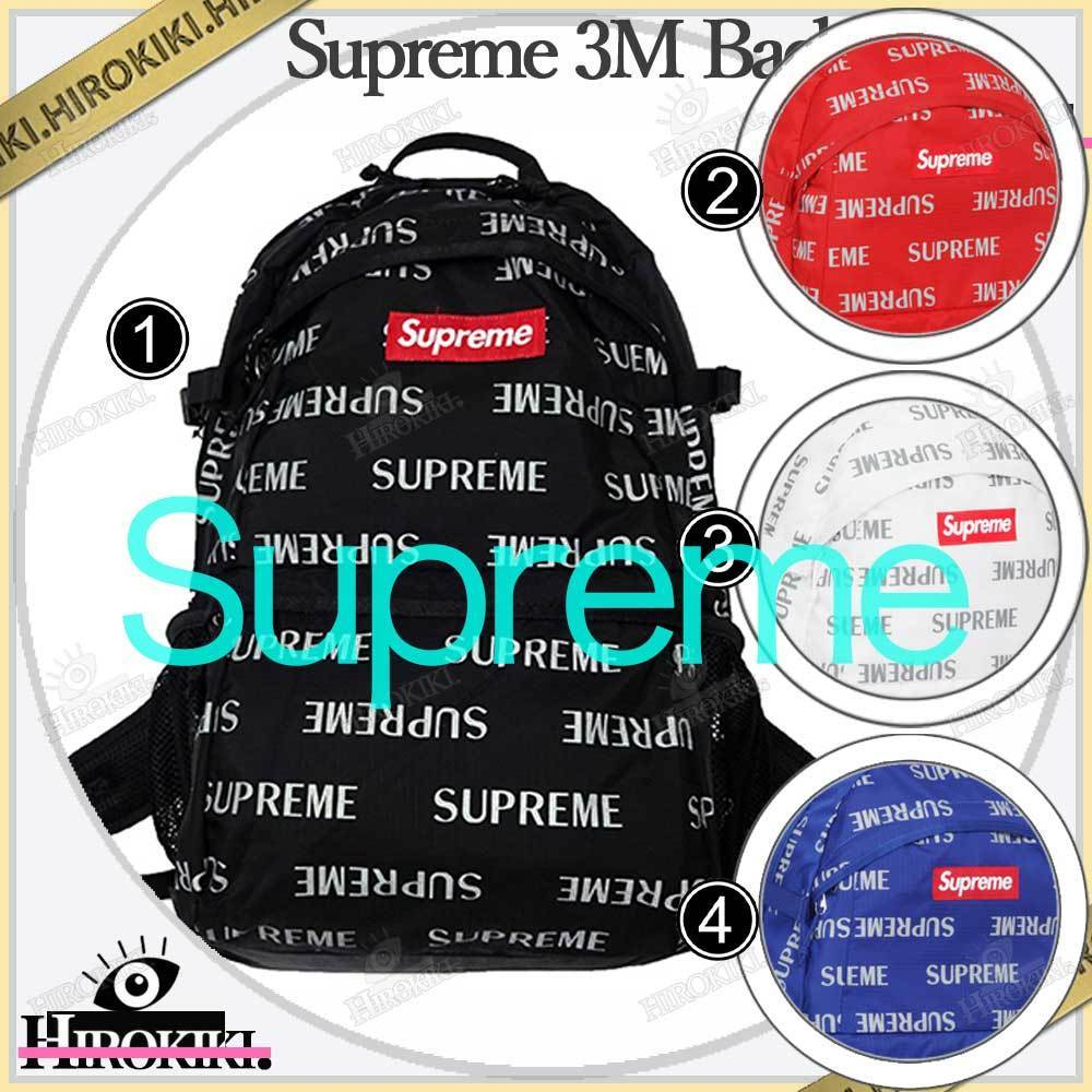16FW /Supreme 3M Reflective Repeat Backpack バックパック (Supreme/バックパック・リュック) 52584968