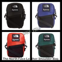 ★2018 AW★Supreme The North Face Leather Shoulder Bag