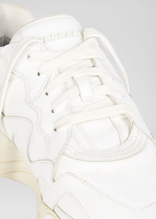 VERSACE スニーカー VERSACE Squalo Trainers Sneakers WHITE 関税込(5)