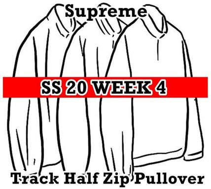 Supreme アウターその他 Supreme Track Half Zip Pullover SS 20 WEEK 4