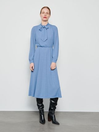 RESERVED ワンピース 新作【RESERVED(リザーブド) 】Dress with neck tie ワンピース(10)