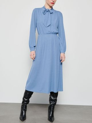 RESERVED ワンピース 新作【RESERVED(リザーブド) 】Dress with neck tie ワンピース(12)