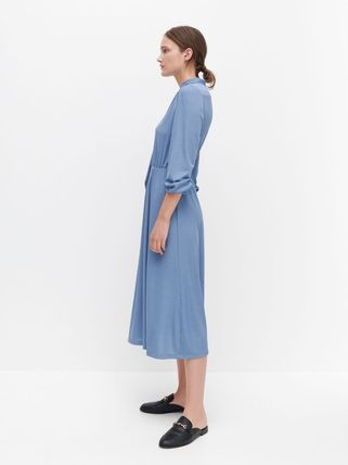 RESERVED ワンピース 新作【RESERVED(リザーブド) 】Dress with neck tie ワンピース(4)