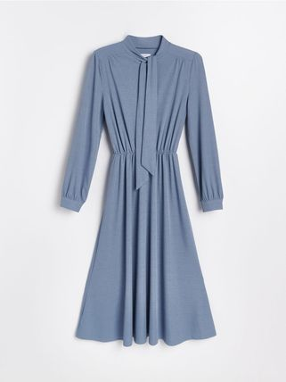 RESERVED ワンピース 新作【RESERVED(リザーブド) 】Dress with neck tie ワンピース(9)