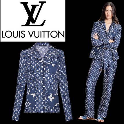 Louis Vuitton ルームウェア・パジャマ 【20SS☆新作国内発送】★ LV★エスカル パジャマショーツ
