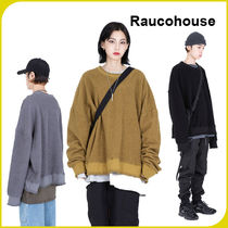 【RAUCOHOUSE】 GR OVER REVERSE SWEAT SHIRTS/追跡可能