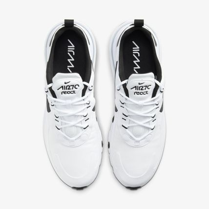 Nike スニーカー 《New 超人気!》NIKE☆AIR MAX 270 REACT ☆ CT1264-102 ☆White(4)