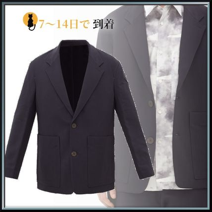 STUDIO NICHOLSON スーツ ◆国内発送◆Single-breasted technical-twill blazer