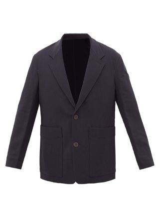 STUDIO NICHOLSON スーツ ◆国内発送◆Single-breasted technical-twill blazer(2)