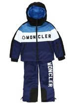 MONCLER kids ブルー スキーウェアセット 6A