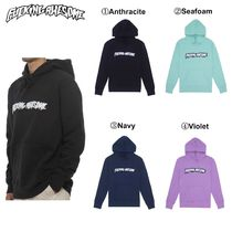 【Fucking Awesome】Garment Dyed Chenille Logo Hoodie