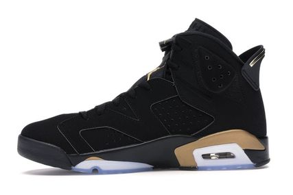 Nike スニーカー NIKE ナイキ AIR JORDAN 6 DMP BLACK/METALLIC GOLD 2020 28㎝(3)