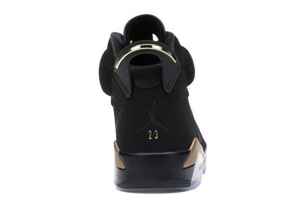 Nike スニーカー NIKE ナイキ AIR JORDAN 6 DMP BLACK/METALLIC GOLD 2020 28㎝(4)