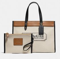 Coach ◆ 89488 Field tote 30 with coach badge