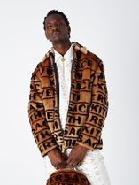 Kith x Versace Fur Coaches Jacket Brown SS 19 2019