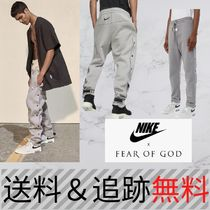 【超レア!】FEAR OF GOD x Nike Warm Up Pants Dust/Sail/Black