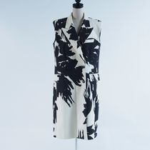 Dries Van Noten::padded shouler printed vest:36[RESALE]