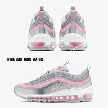 NIKE★AIR MAX 97 GS★SILVER/PINK/GREY★大人も履ける