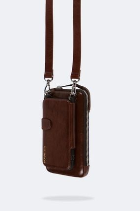 Bandolier スマホケース・テックアクセサリー NEW!! ☆Bandolier☆ Distressed Leather Expanded Zip Pouch(4)
