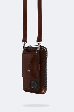 Bandolier スマホケース・テックアクセサリー NEW!! ☆Bandolier☆ Distressed Leather Expanded Zip Pouch(5)
