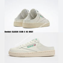 REEBOK★CLUB C 85 MULE★ミュール CHALK/PAPERWHITE/GLEN GREEN
